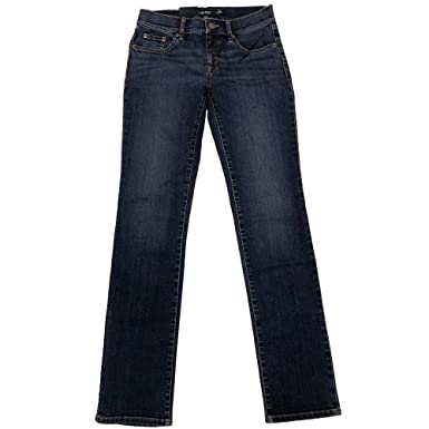28f326d1cf Lauren Ralph Lauren Women s Modern Straight Jeans at Amazon Women s ...