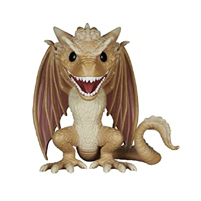 "Funko POP Game of Thrones: Viserion 6"" Action Figure: Funko Pop!:: Toys & Games"