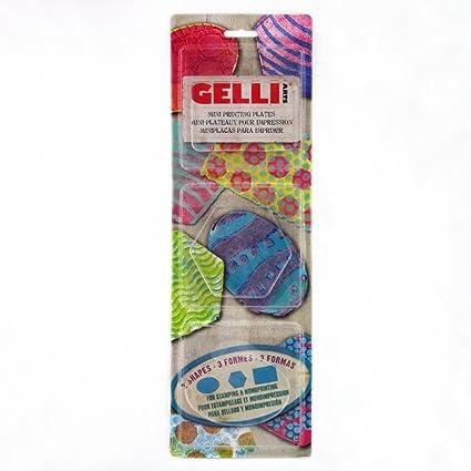Amazon.com: Gelli Arts Minis - Set of 3 Mini Gel Printing Plates ...