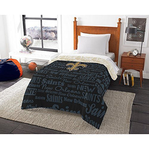 New Orleans Saints Twin Comforter - 6