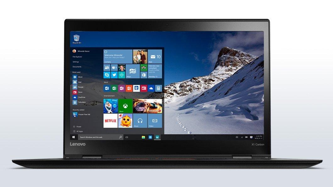 Lenovo ThinkPad X1 Carbon 4 Business Ultrabook - Windows 10 Pro - Intel Core i7-6600U, 512GB SSD, 16GB RAM, 14'' FHD IPS (1920x1080) Display, Fingerprint Reader, Intel HD Graphics 520