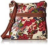 Sakroots Artist Circle Crossbody, Cream Flower Power