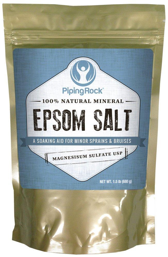 Epsom Salt 1.5 lb Magnesium Sulfate Piping Rock