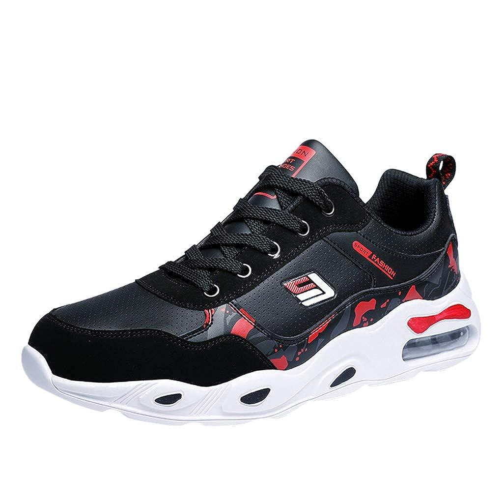LILIGOD Laufschuhe Herren Straßenlaufschuhe Sportschuhe Turnschuhe Leichte Weicher Boden Sneaker Air Cushion Schuhe Outdoor Fitness Gym Schuhe Freizeit Atmungsaktive Schuhe
