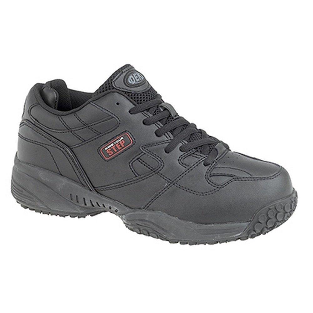 DEK - Zapatillas Deportivas con Cordones Modelo Cruiser Comfort Hombre Caballero 40 EU|Negro
