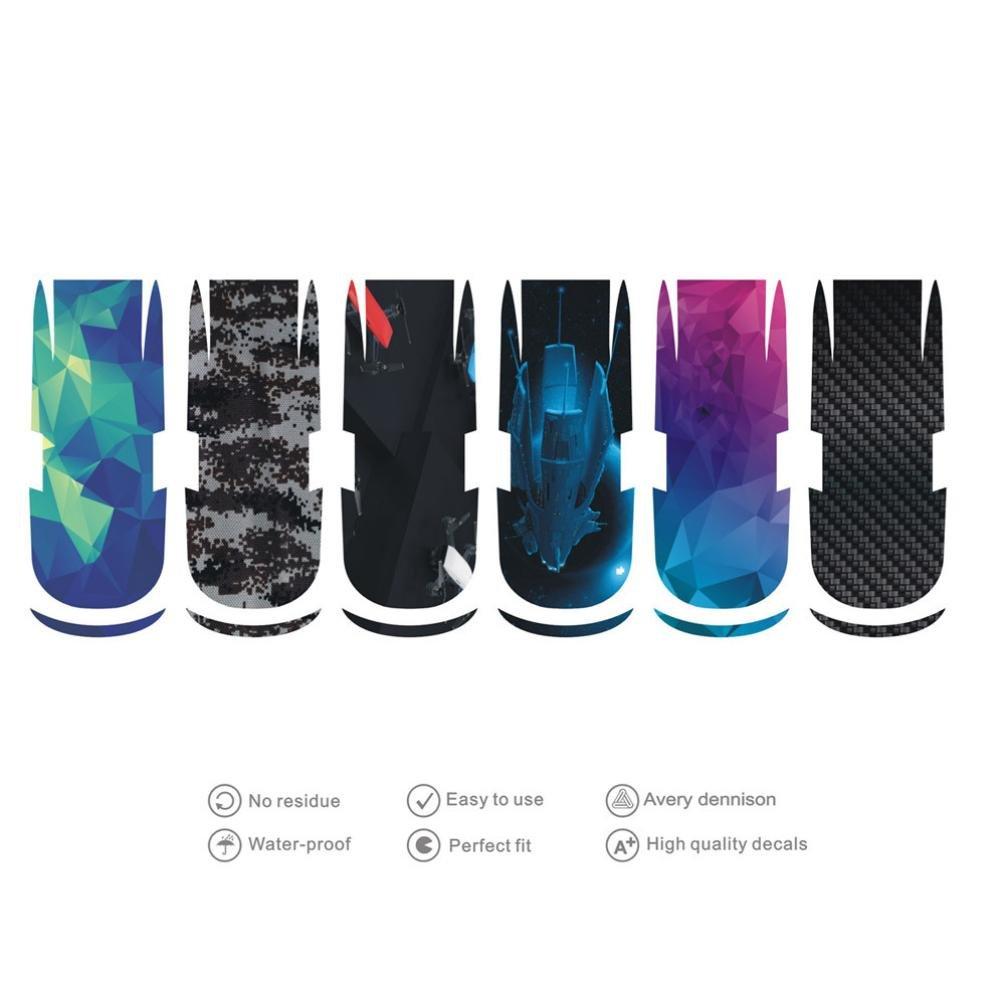 Wokee 6Pcs Sticker Paster Waterproof Reusable PVC Protective For DJI Spark