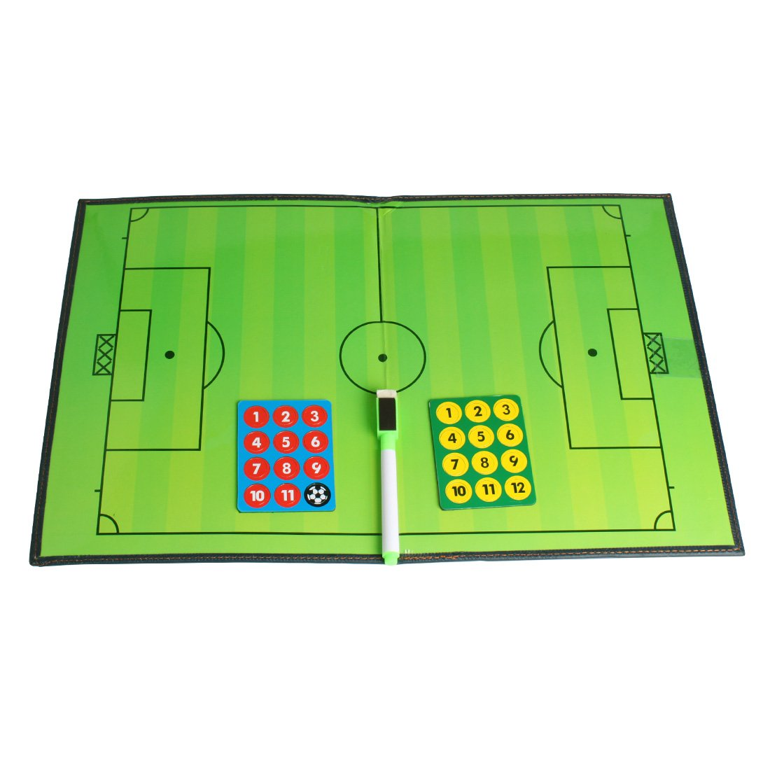 ANDUX Basketball Coaches Clipboard Strategy and Visualization Equipment Dry Erase Training Aid ZUB-01 (Basketball Coaches Board)
