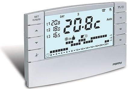 Termostato programable digital de Zefiro, termostato con ...