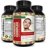 Candida Cleanse Support For Men And Women – Pure Immune System Booster – Acidophilus – Oregano – Caprylic Acid – Anise – Protease – Cellulase – Potent Candida Complex – Natural Enzymes Review