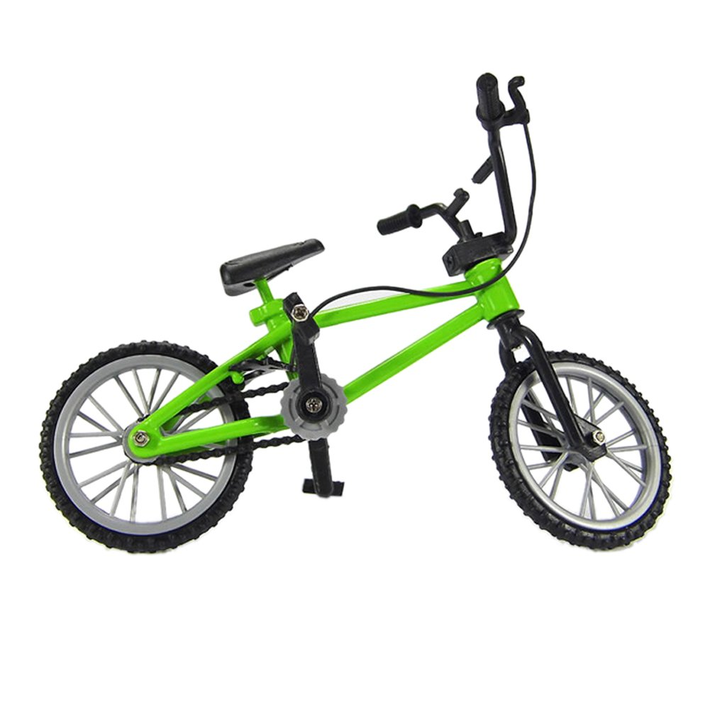 greenapricot Finger Mountain Bike Excellent Functional Miniature Finger Bicycle Boy Toy(Send Random)