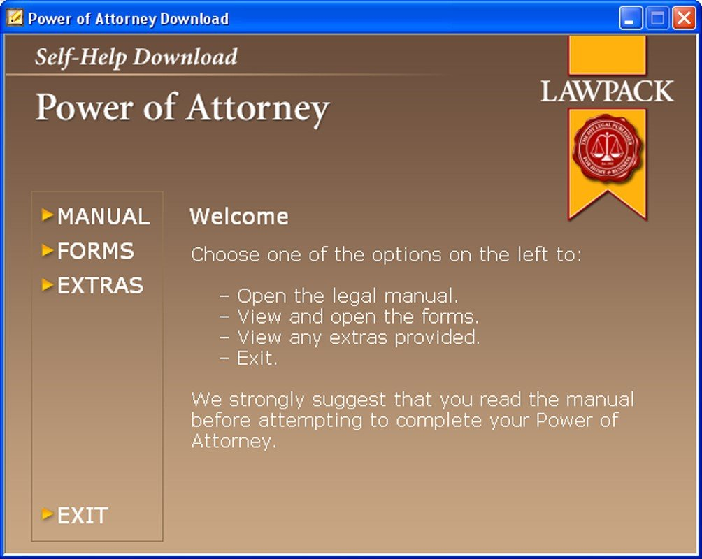 Power of attorney pc cd amazon software falaconquin