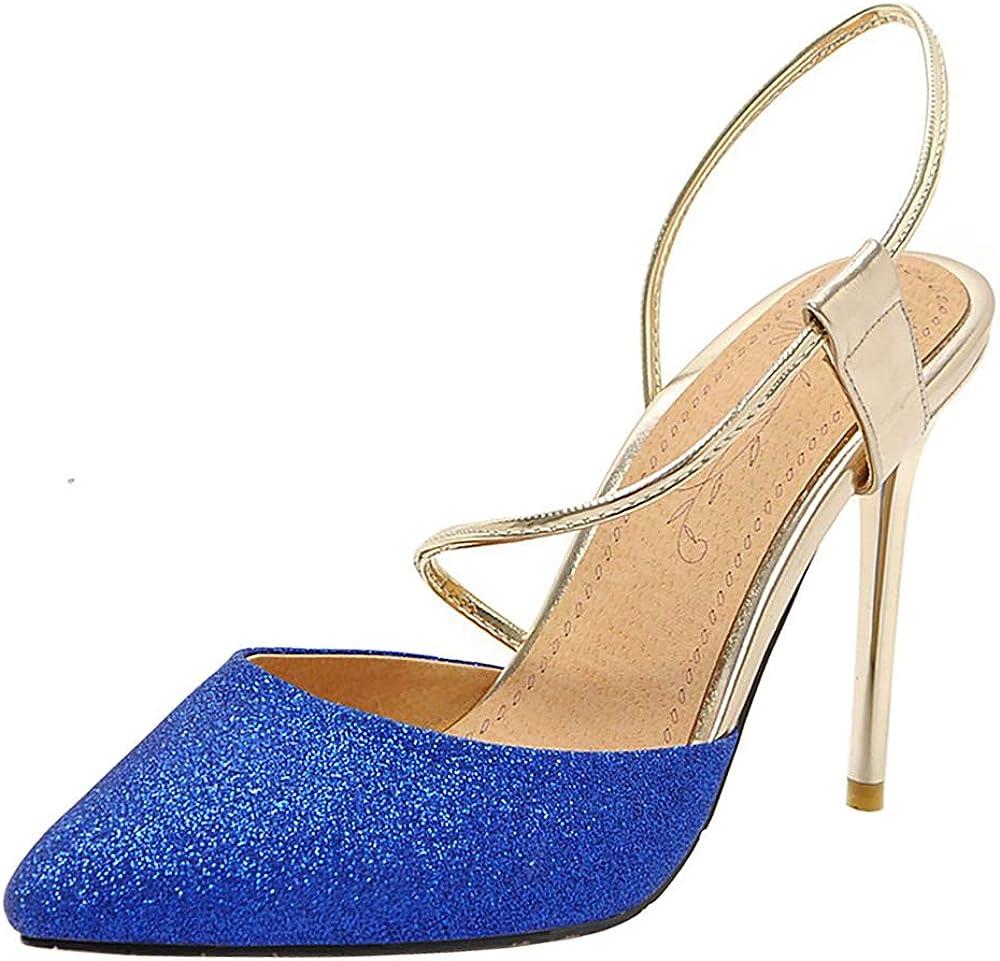 Lydee Women Fashion Summer Shoes Stiletto High Heels Sandals