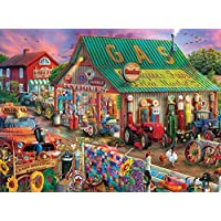 Buffalo Games Country Life Collection Antique Market 1000-Piece Jigsaw Puzzle