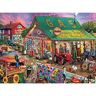 Buffalo Games - Antique Market - 1000 Piece Jigsaw Puzzle, Multi