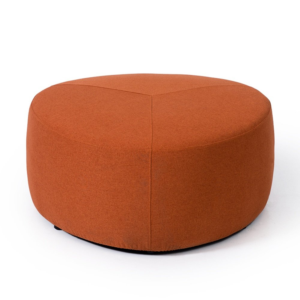 Cloth Stool/Creative Lazy Sofa Stool/Round Stool/Living Room Stool/Coffee Table Stool/Soft Surface Thick Stool/Bed Stool Fabric Footstool/Home stools / 808038cm (Color : 3)