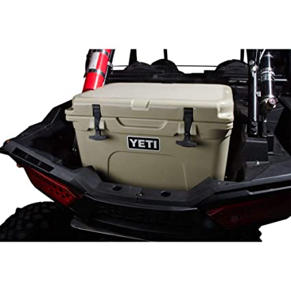 Amazon.com: Rider Cargo Cooler Mounting Rack and Cooler Kit Yeti Tundra 35 Tan - Fits: Polaris Ranger RZR XP Turbo EPS 2016-2019: Automotive