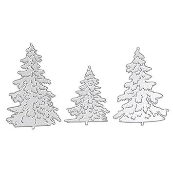 Sapin De Noël Elk Matrices à Découper Scrapbooking Album