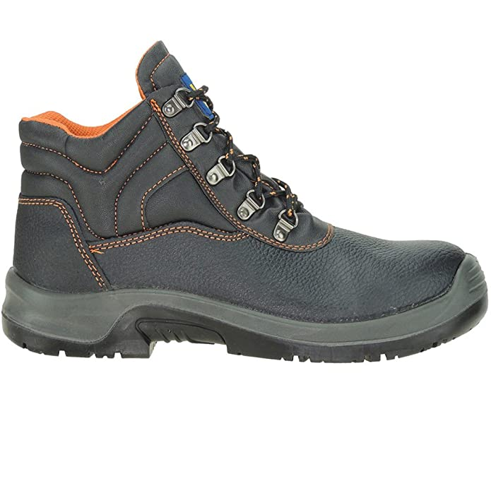 SEGARRA - Bota seguridad homologada - Modelo 1023, color NEGRO, Talla 45: Amazon.es: Zapatos y complementos