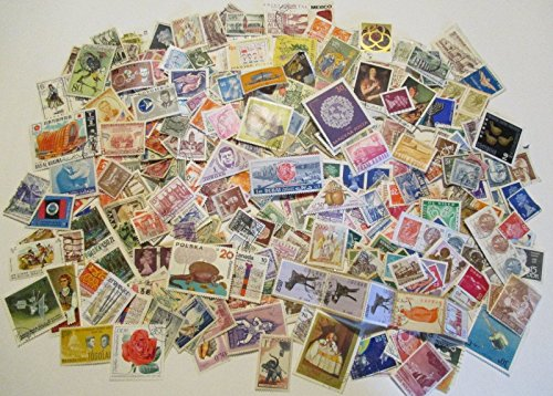 (Packet of 500 Different Collectable Worldwide Stamps)