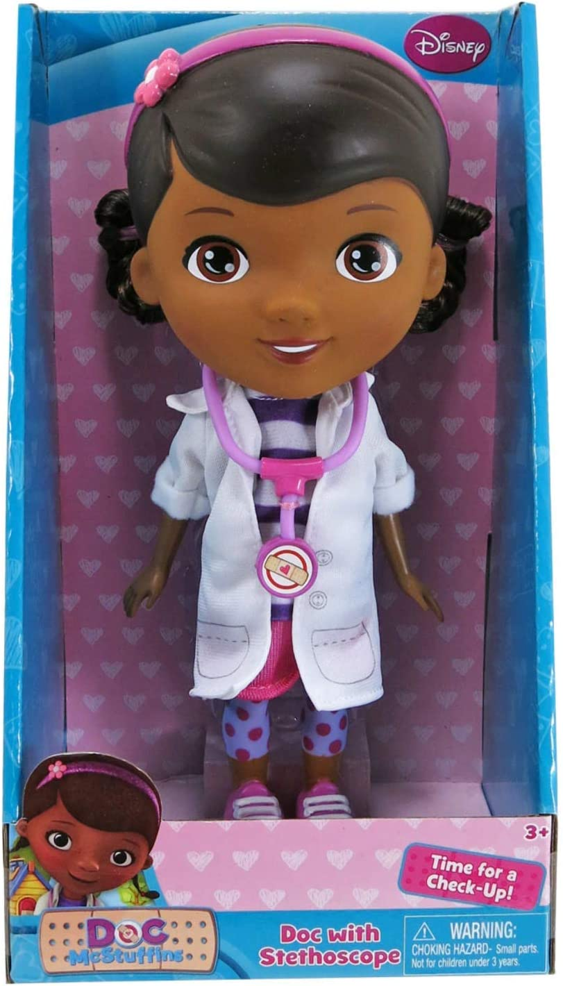 1 X Doc Mcstuffins Doctor Outfit with Stethoscope Exclusive Doll by Disney