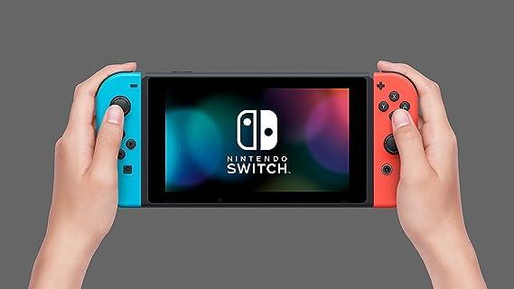 Nintendo Switch - Consola color Azul Neón/Rojo Neón + 1-2 Switch ...