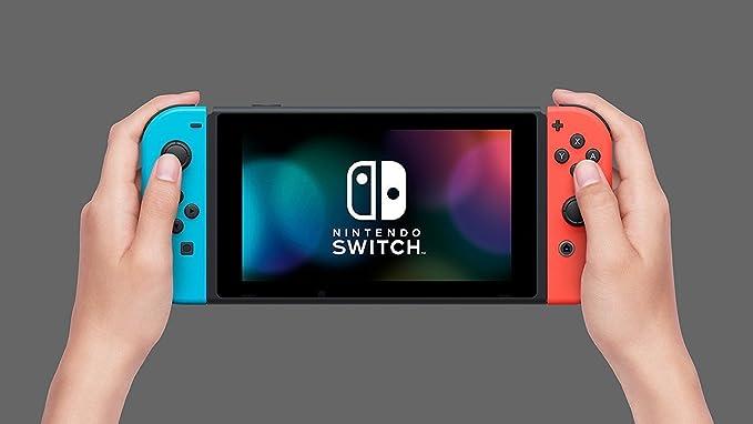 Nintendo Switch - Consola color Azul Neón/Rojo Neón + Mario Tennis ...