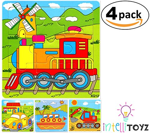 Fun Wooden Colorful Puzzle Jigsaw - 3