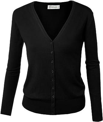 Comprar Cardigan básico con cierre de botones, para mujer Talla 40(ES)=XX-Large