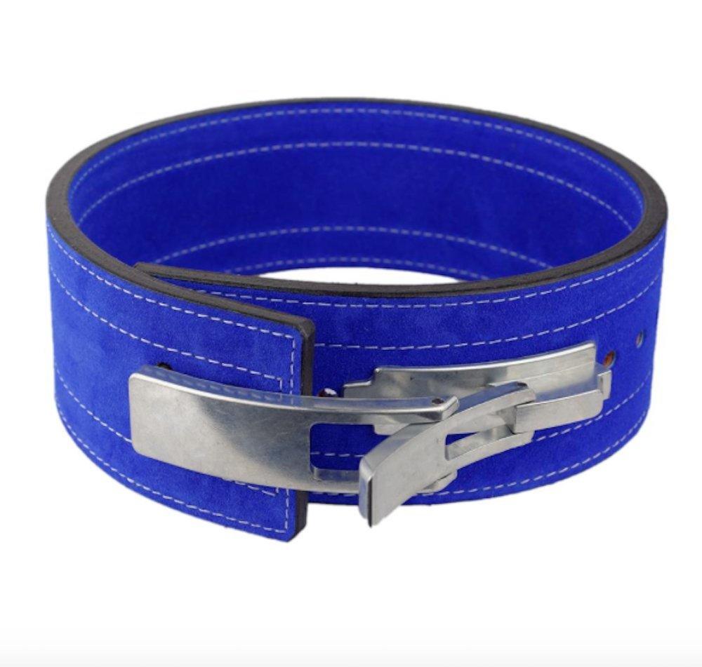 Inzer Advance Designs Forever Lever Belt 10MM (Royal Blue, 2X-Large)