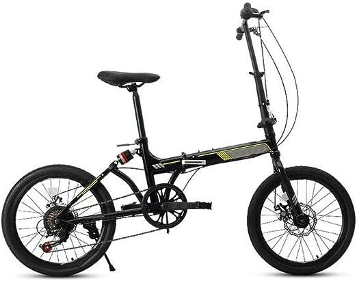 Velocidad Plegable Bicicleta Frenos De Doble Disco De 20 Pulgadas ...