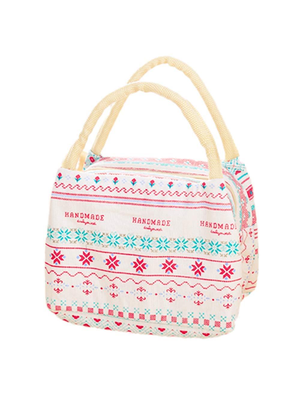 LAAT borsa pranzo a isolamento termico, porta-pranzo, borsa da picnic in tela,sacchi da refrigerazione portatili, sporta pieghevole, confezione pranzo Bear 778765