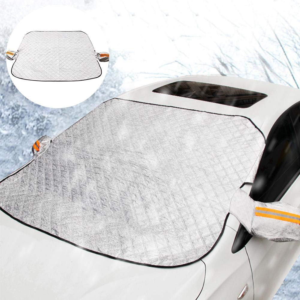 Foldable Thickened Anti-Frost Protector Great for Truck SUV Van and More Car Windscreen Snow Cover Sunshades for Car Windows