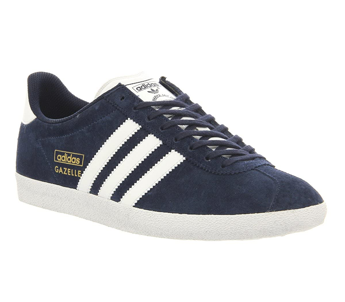 best sneakers 72f3d 7ee5b Adidas Gazelle Og Dark Indigo White - 6 UK Amazon.co.uk Shoe