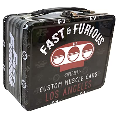 Factory Entertainment Fast & Furious Muscle Cars Tin Tote: Toys & Games