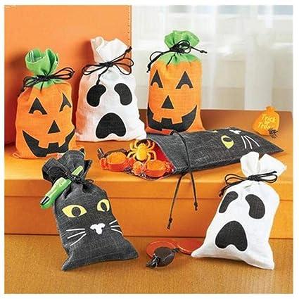 Bolsas de dulces de Halloween Halloween Goody Bolsas Bolsa ...