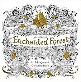 Enchanted Forest Basford Johanna 9781780674872 Amazon Com Books