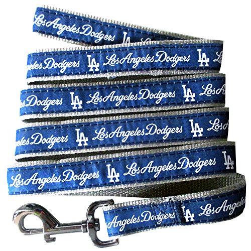 MLB LOS ANGELES DODGERS Dog Leash, Large ()
