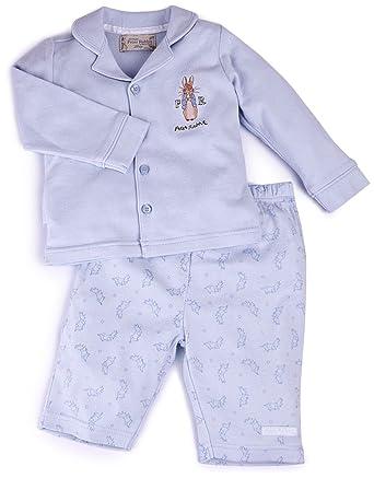 514b5a9e5f0 Peter Rabbit Unisex Baby Pyjama's 12-18Months Blue: Amazon.co.uk ...