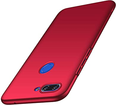 AOBOK Funda Xiaomi Mi 8 Lite, Ultra Slim Duro Fundas Anti-Rasguño ...