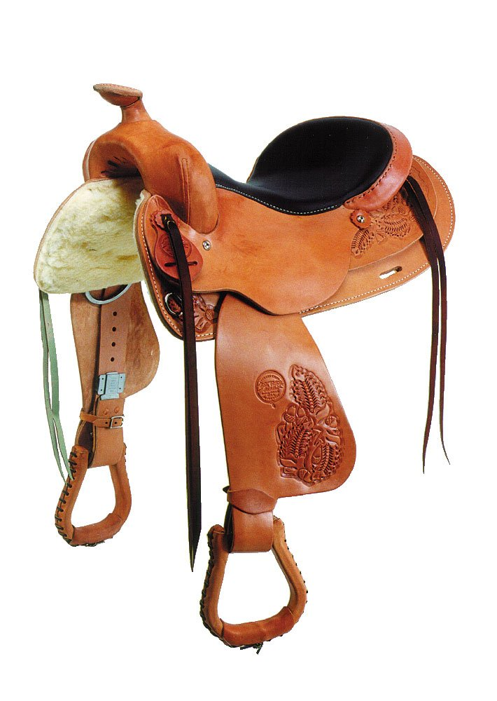 15-Inch The colorado Saddlery Bear Valley Trail Master Saddle