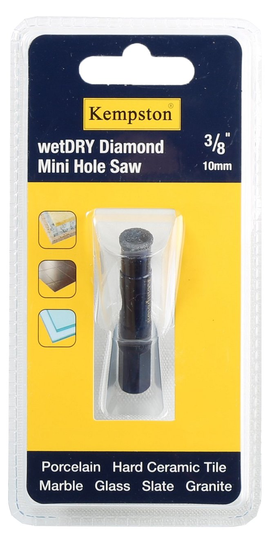 KEMPSTON 88000 Kempston Wet//Dry Mini Diamond Hole Saw 3//4 3//4