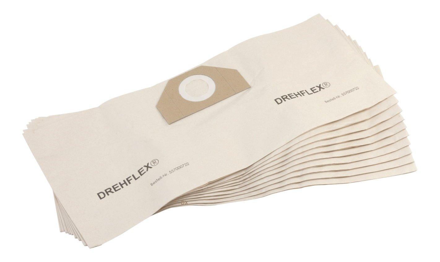 DREHFLEX – 10 x Bolsas de aspiradora sb722 – Material Papel – Apta para varios aspiradora/ – Aspiradora/ – Aspiradora (/multiusos de Kärcher – Aptos ...