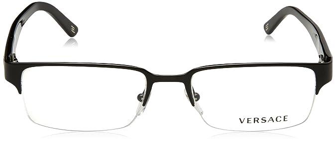 39a4a8710b3 Amazon.com  Versace VE1184 Eyeglasses-1261 Matte Black-53mm  VERSACE  Shoes