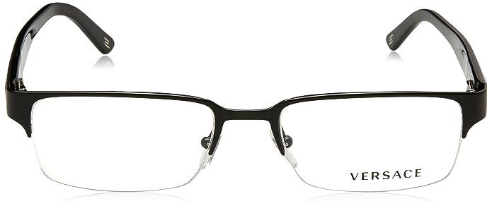 cfc4fcce9377 Amazon.com  Versace VE1184 Eyeglasses-1261 Matte Black-53mm  VERSACE  Shoes