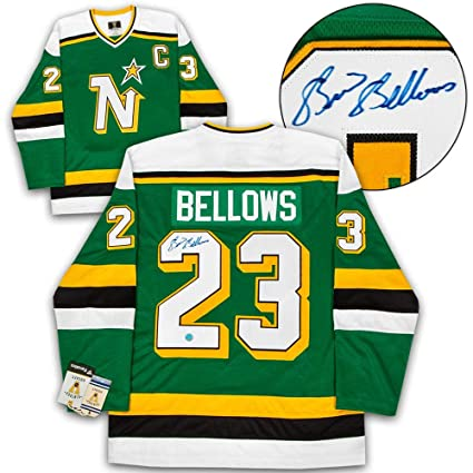 3c7e7ae7f9d Brian Bellows Signed Jersey - Fanatics Vintage - Autographed NHL Jerseys at  Amazon's Sports Collectibles Store