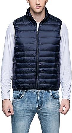 Ligero - chaqueta ligera, ideal para viajar.,Para hombre otoño invierno ultraligero abajo conceden G