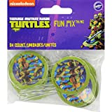 Wilton Industries 2113-7744 24 Count Teenage Mutant Ninja Turtles Fun Pix Cupcake Decor