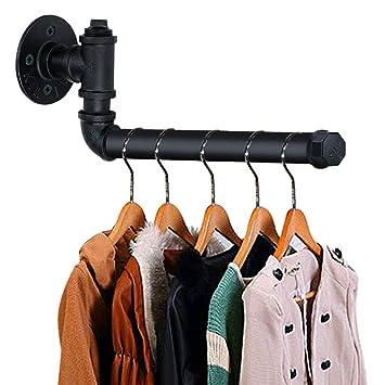 Amazon.com: TLBTEK - Perchero de pared para colgar ropa, de ...