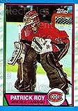 Patrick Roy Hockey Card 1989-90 Topps 17 Patrick Roy