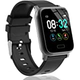 L8star Fitness Tracker HR, Activity Tracker with 1.3inch IPS Color Screen Long Battery Life Smart Watch with Sleep…